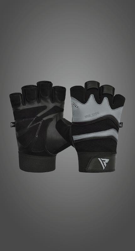 Wholesale Bulk Leather Short Strap Gym Weightlifting Workout Gloves Equipment Gear Manufacturer Supplier UK Europe
