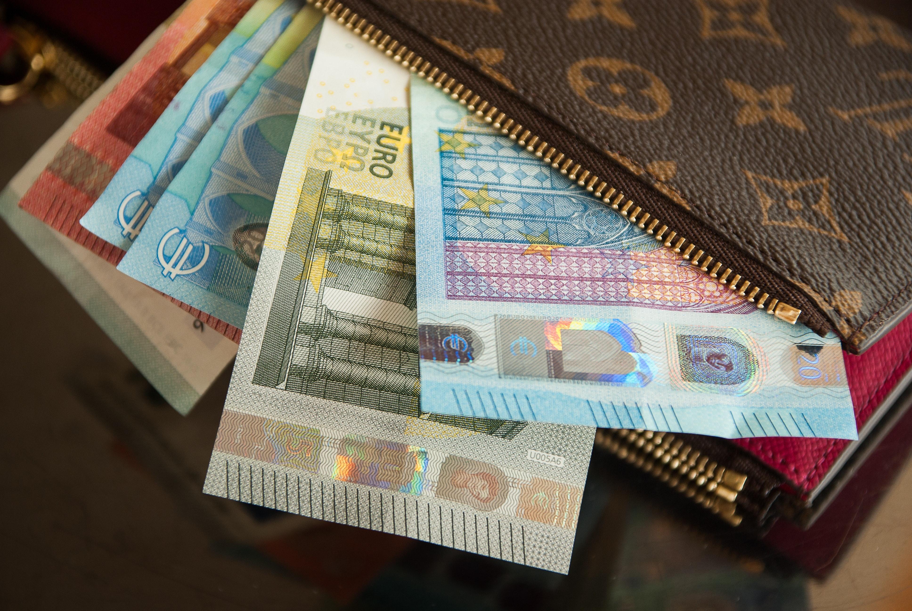 Money bank notes cash