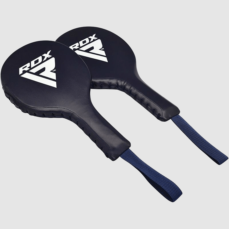 Wholesale Blue Boxing Training Punch Paddles made of Genuine Leather Bulk Supplier & Manufacturer UK Europe USA
