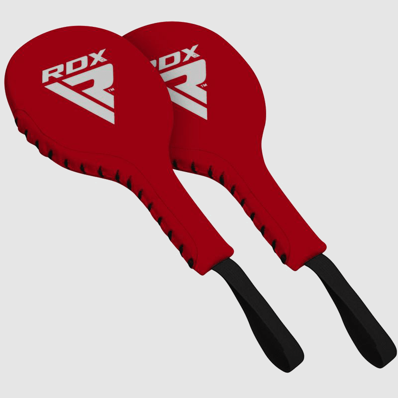 Wholesale Red Boxing Training Punch Paddles made of Authentic Leather Bulk Supplier & Manufacturer UK Europe USA