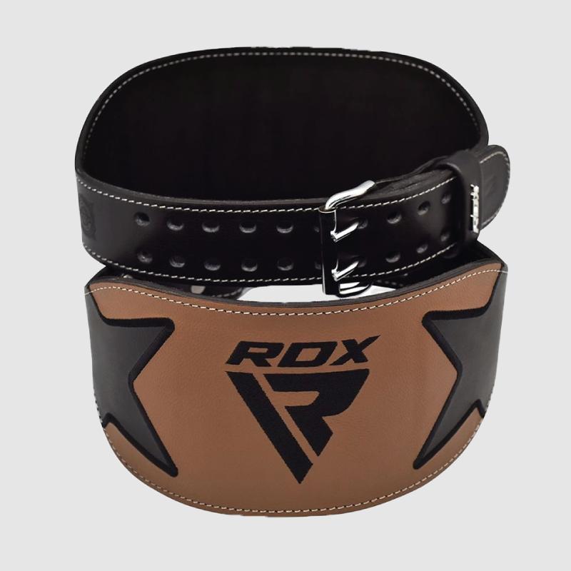 Großhandel 6 Zoll Gewichtheber-Gymnastikgürtel aus echtem Leder Großhandel Lieferant & Hersteller UK Europa USA