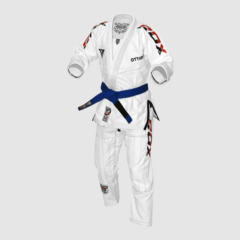 Wholesale White Cotton BJJ Gi Brazilian Jiu Jitsu Kimono Uniform A0 A1 A2 A3 A4 Manufacturer Supplier UK Europe