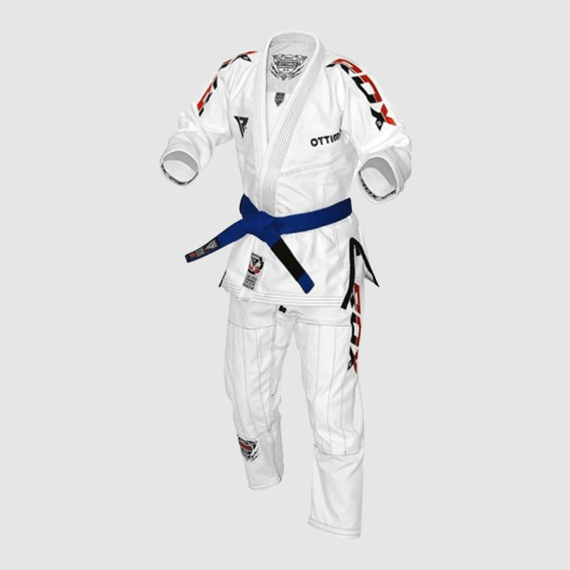 Atacado Algodão Branco BJJ Gi Brazilian Jiu Jitsu Kimono Uniforma A0 A1 A2 A3 A4 Fornecedor & Fabricante UK Europa USA