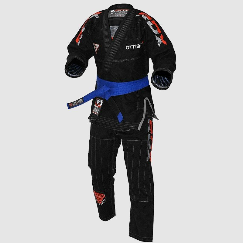 Wholesale Black Cotton BJJ Gi Brazilian Jiu Jitsu Kimono Uniform A0 A1 A2 A3 A4 Manufacturer Supplier UK Europe