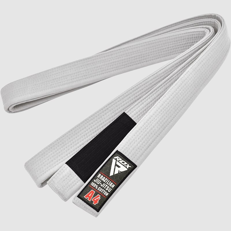 Wholesale White Cotton BJJ Gi Brazilian Jiu Jitsu Belt A0 A1 A2 A3 A4 Manufacturer Supplier UK Europe