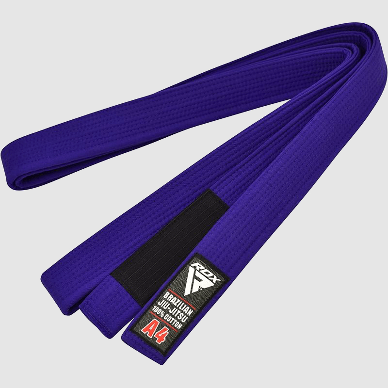 Wholesale Blue Cotton BJJ Gi Brazilian Jiu Jitsu Belt A0 A1 A2 A3 A4 Manufacturer Supplier UK Europe