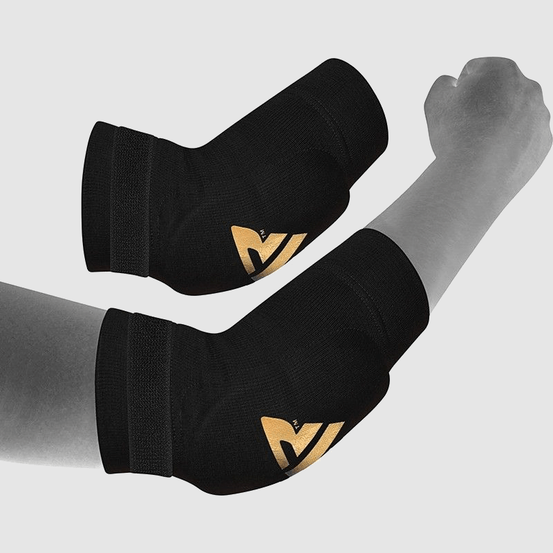 Wholesale Padded Elbow Sleeve for Muay Thai & MMA Workouts in Black Hosiery Manufacturer & Bulk Supplier UK Europe USA