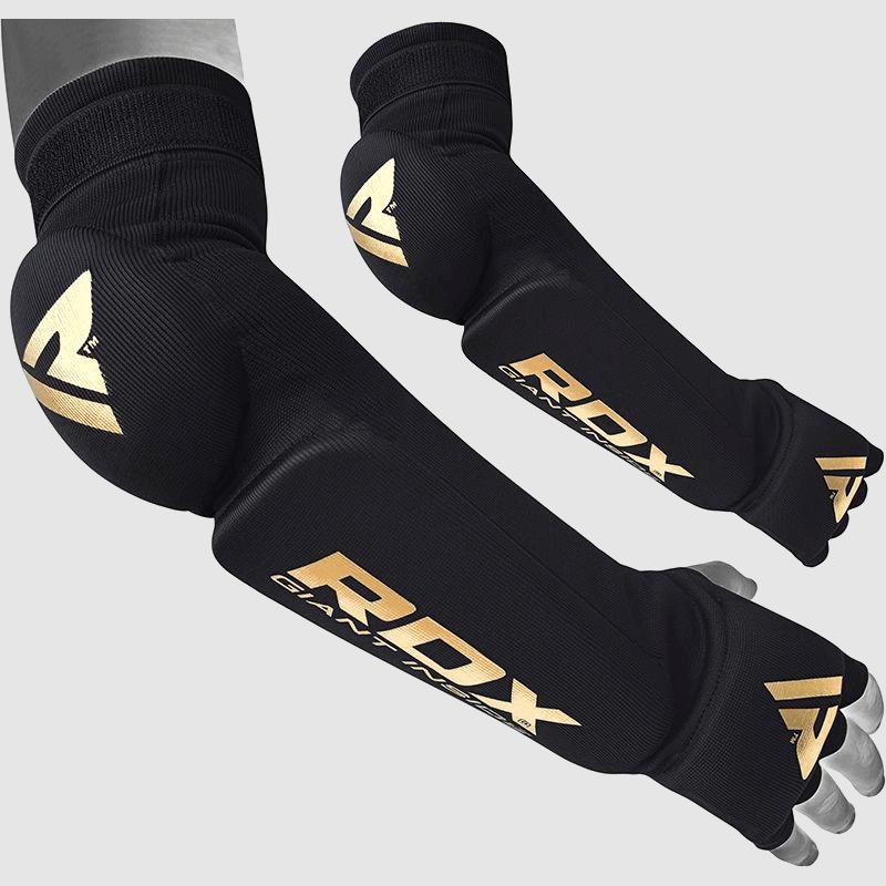 Vente en gros de protège avant-bras et coude manchon en maille rembourrés en noir pour Muay Thai, MMA Fabricant et fournisseur Royaume-Uni Europe USA