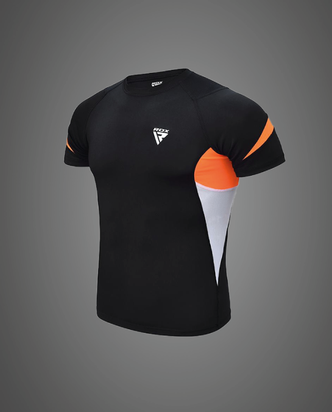 Großhandelsmenge Kurzarm-Kompressionsbekleidung Baselayer Hemden für Fitnesstraining Workouts Hersteller Lieferant UK Europa