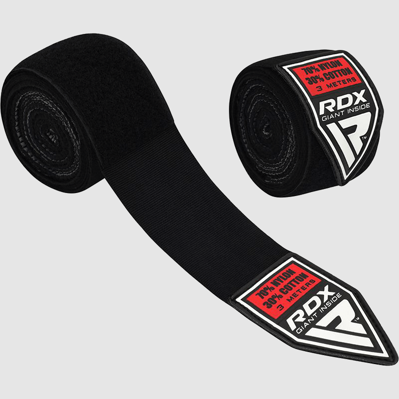 Wholesale Gel Boxing MMA Hand Wraps for Training & Fight in Black Bulk Supplier & Manufacturer UK Europe USA