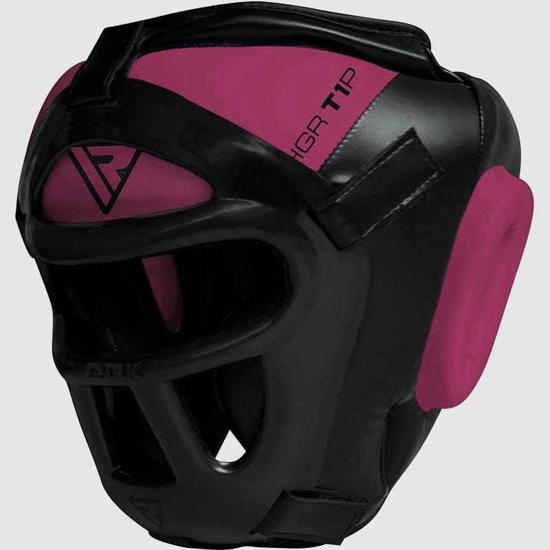 Wholesale Ladies Headgear with Unbreakable Removable Face Cage in Pink for Women Bulk Manufacturer Supplier UK Europe