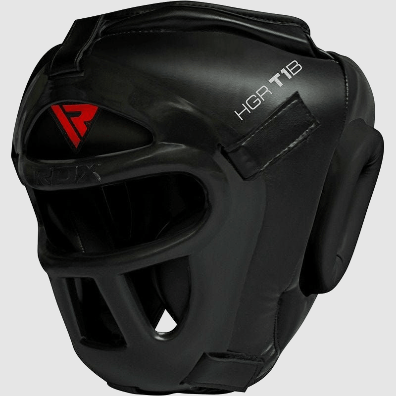 Wholesale Headgear with Unbreakable Detachable Face Cage in Black PU Leather Bulk Manufacturer Supplier UK Europe