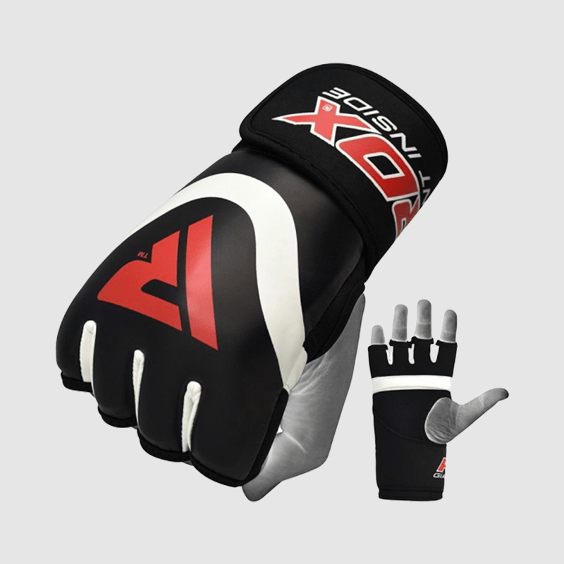 Wholesale Bulk Gel Inner Gloves for Boxing Fight Training in Red PU Leather Bulk Manufacturer Supplier UK Europe