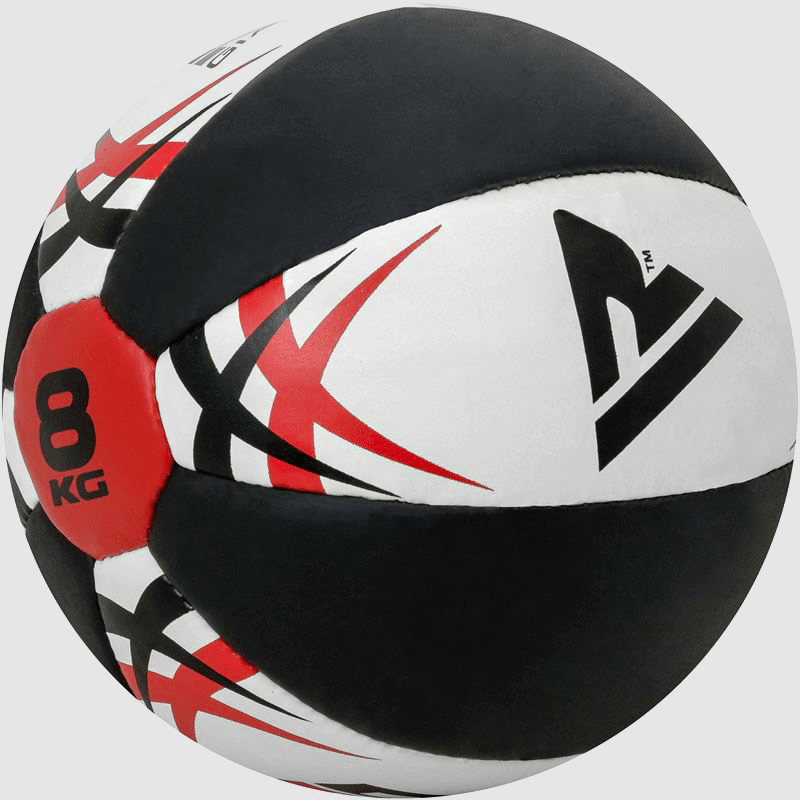Wholesale 5 8 10 12 kg PU Leather Weighted Medicine Exercise Fitness Ball White Black Red Manufacturer Supplier UK Europe