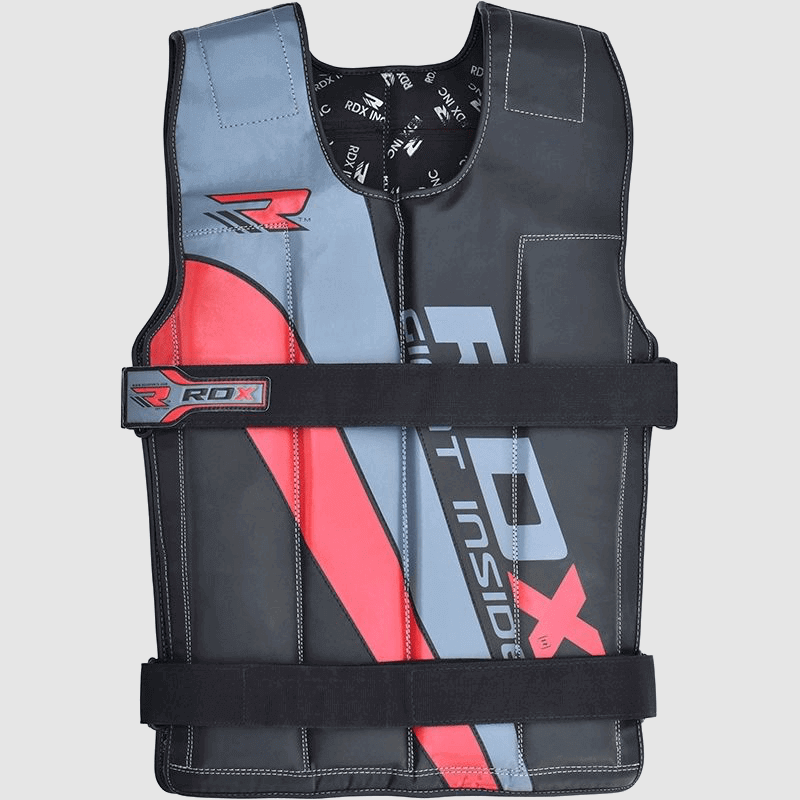 Vente en gros de Vestes pondérées à poids ajustable en nylon cordura Rouge / Bleu / Noir de 10 - 18KG Fournisseur & Fabricant UK Europe USA