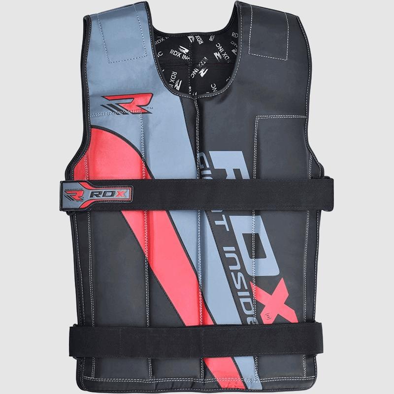 Wholesale Red / Blue / Black 10 - 18KG Adjustable Weighted Vest in Nylon Cordura Bulk Supplier & Manufacturer UK Europe USA