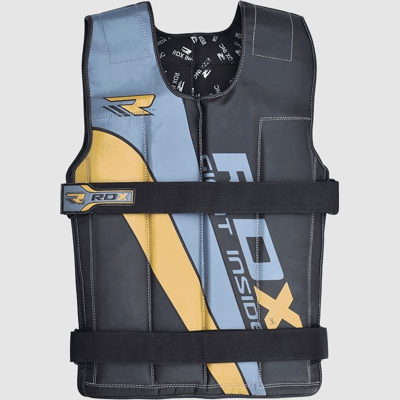 Wholesale Golden / Blue / Black 8 - 14KG Adjustable Weighted Vest in Nylon Cordura Bulk Supplier & Manufacturer UK Europe USA