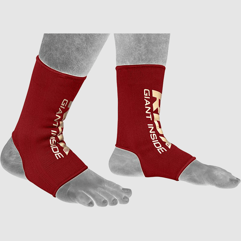 Wholesale Ankle Support Sprain Protection Compression Sleeve in Red Neoprene Bulk Manufacturer Supplier UK Europe USA