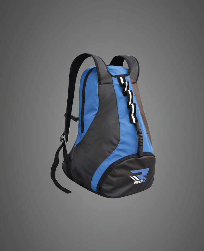 Wholesale Bulk Blue & Black Boxing Kit Backpacks Manufacturer Supplier UK Europe
