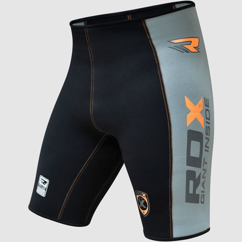 Wholesale Thermal Compression Shorts for Fitness Training Gym Exercise Grey / Black / Orange Manufacturer & Bulk Supplier UK Europe USA