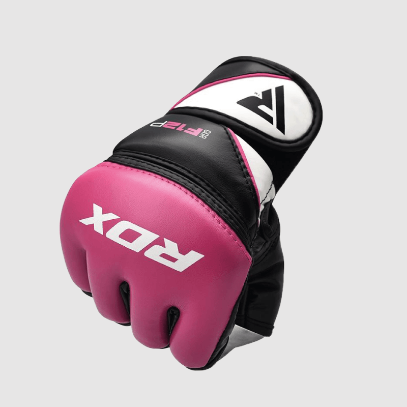 Wholesale Pink Maya Hide MMA Grappling Gloves for Women Bulk Supplier & Manufacturer UK Europe USA