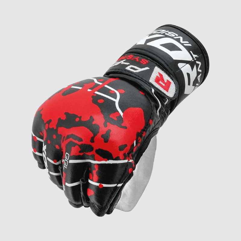 Wholesale SMMAF Approved Professional Cowhide Leather MMA Fight Gloves Bulk Supplier & Manufacturer UK Europe USA