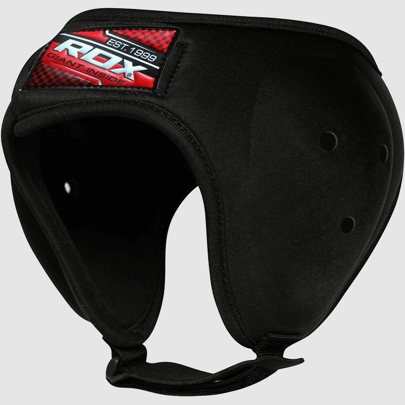 Wholesale MMA Grappling Ear Protection Head Guard in Black Nylon Bulk Supplier Manufacturer UK Europe USA