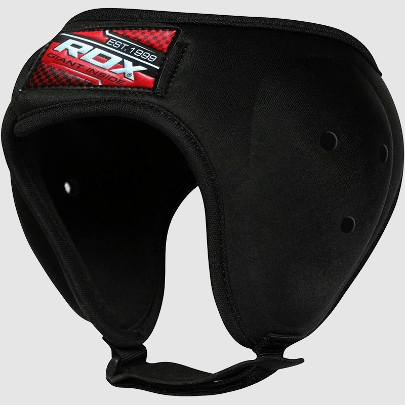 Wholesale MMA Grappling Ear Protection Head Guard in Black Nylon Bulk Manufacturer Supplier UK Europe