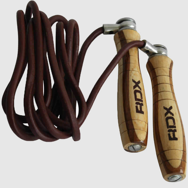 Wholesale Wooden 9ft Leather Skipping Ropes Bulk Supplier & Manufacturer UK Europe USA