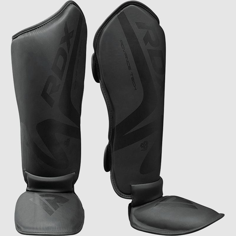 Wholesale Durable & Premium MMA Gel Padded Shin Instep Guards in Black Maya Hide Manufacturer Bulk Supplier UK Europe USA