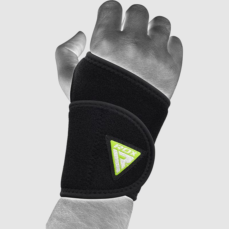 Wholesale Wrist Support Compression Strap Adjustable in Black Neoprene Manufacturer & Bulk Supplier UK Europe USA