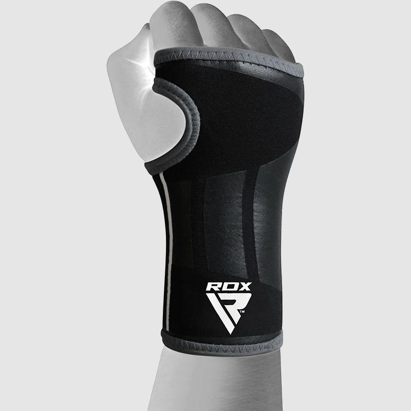 Vente en gros de supports pour poignets en gel de compression rembourrés en néoprène noir Fabricant et fournisseur Royaume-Uni Europe USA